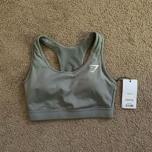 Gymshark Intimates & Sleepwear - NWT Gymshark Grey Training Sports Bra